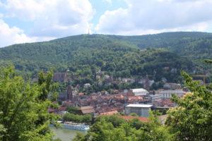 Beliebtes Segway Heidelberg Ziel: Philosophenweg mit Blick auf die Altstadt