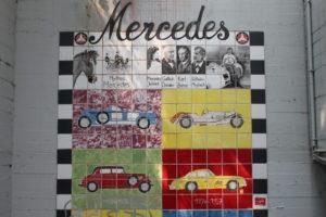 Mercedes prägt die Stadt