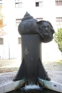 Einsteinbrunnen