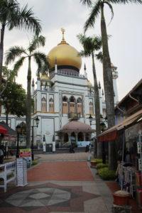 Masjid Sultan - Sultan Moschee
