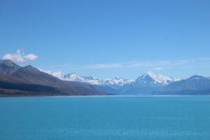 Schneebedeckter Mount Cook