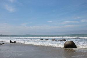 Kurzer Zwischenstopp auf der Neuseeland Rundreise - Moeraki