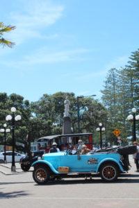Oldtimerrundfahrt in Napier