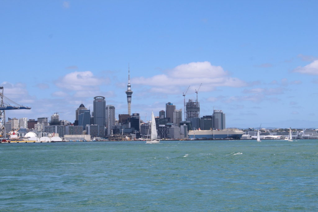Rundreise Neuseeland - Start in Auckland