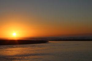 Sonnenuntergang genießen auf der Neuseelandrundreise