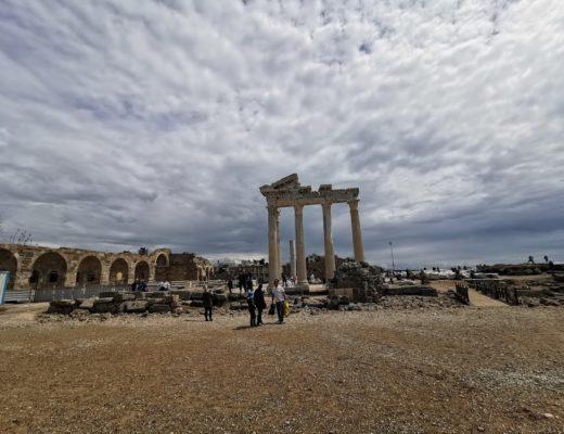 Apollon Tempel, Wahrzeichen Sides