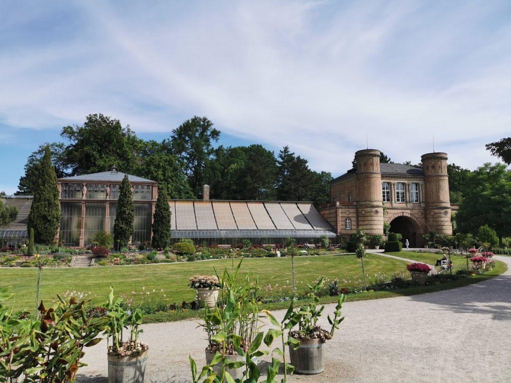 Karlsruhe Sehenswürdigkeiten - Botanischer Garten
