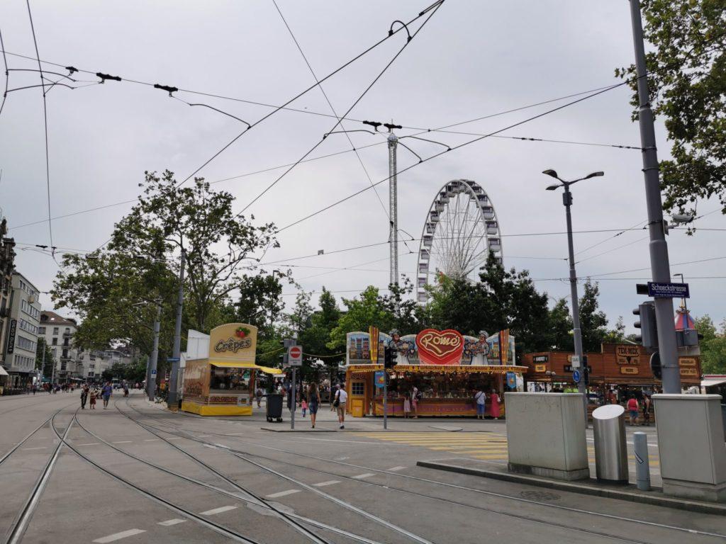 Zürich Fäscht auf dem Belvue Platz