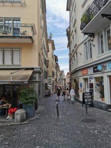Zürich Sehenswürdigkeiten - Seitenstraßen