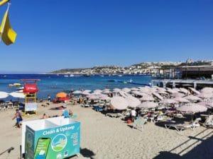 Strand von Mellieha - Pflichtprogramm im Malta Urlaub