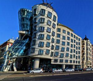 Prag Sehenswürdigkeiten - tanzendes Haus