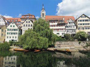 Stocherkahn fahren in Tübingen