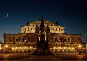 Dresden Sehenswürdigkeiten - die Semperoper