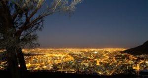 Signal Hill bei Nacht